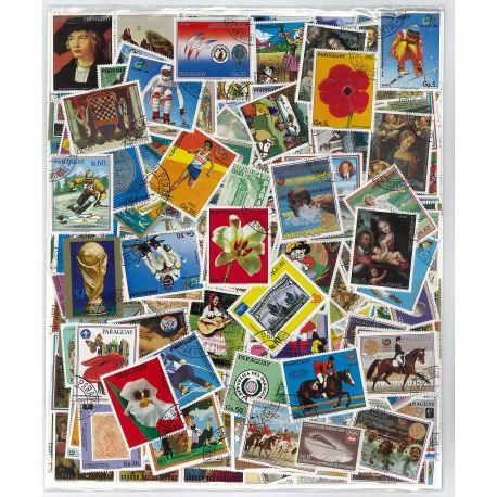 Paraguay - 100 timbres différents