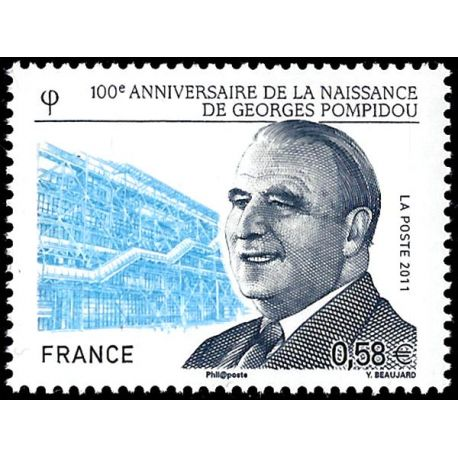 Timbre France N° 4561 neuf sans charnière