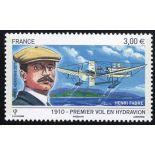 La posta aerea francese francobollo N ° 73 Nuevo non linguellato