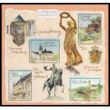 Timbres France Série N° 3624/27 neuf sans charnière