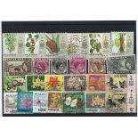 Penang-Sammlung gestempelter Briefmarken