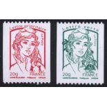 Französisch Briefmarken N ° 4778/79 Postfrisch