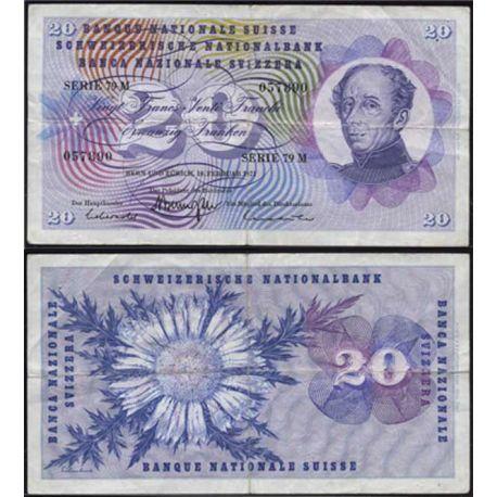 Suisse : Billet de 100 Francs - SaintMartin - Pk 49 - SUP