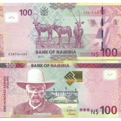 Billets de collection Billet de banque collection Namibie - PK N° 14 - 100 Dollars Billets de Namibie 28,00 €