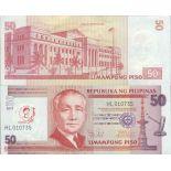 Billet de banque collection Philippines - PK 218 - 50 Pesos