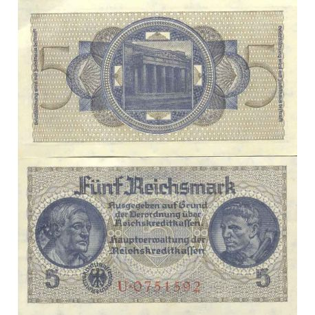 Billet de banque collection Allemagne - PK N° 122 - 5 Mark
