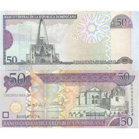 Billets de collection Billet de banque collection Dominicaine Repu. - PK N° 176 - 50 Pesos Billets de République Dominicaine ...