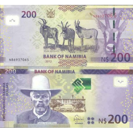 Billets de collection Billet de banque collection Namibie - PK 15 - 200 Dollars Billets de Namibie 47,00 €