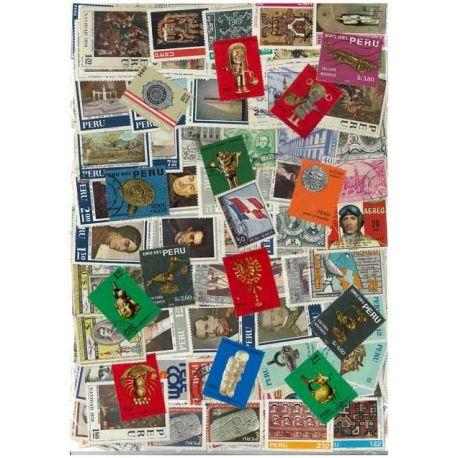 Perou - 50 timbres différents