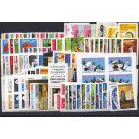 Briefmarken Frankreich 2005 in neuem ganzem Jahr