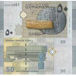 Sammlung von Banknoten Syrien Pick Nummer 112 - 50 Livre 1998