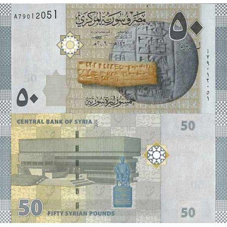 Billets de collection Billet de banque collection Syrie - PK N° 112 - 50 Pounds Billets de Syrie 1,00 €