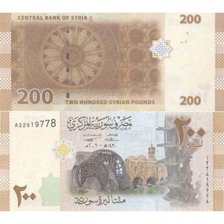 Billets de collection Billet de banque collection Syrie - PK N° 114 - 200 Pounds Billets de Syrie 3,00 €
