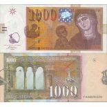 Billet de banque collection Macedoine - PK N° 18 - 1000 Denari