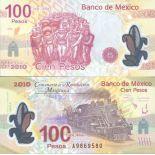 Collezione banconote Messico Pick numero 128 - 100 Peso 2007