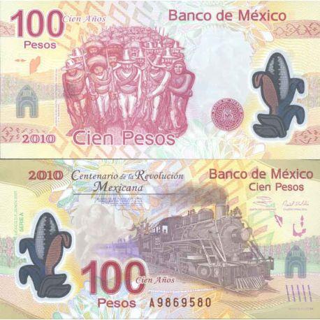 Billet de banque collection Mexique - PK N° 128 - 100 Pesos