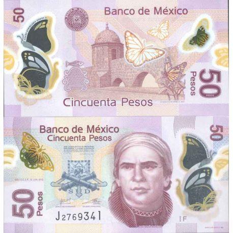 Billet de banque collection Mexique - PK N° 999 - 50 Pesos