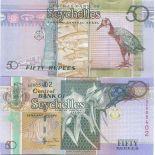 Banconote Seychelles Pick numero 43 - 50 Roupie 2011