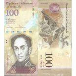 Billet de banque collection Venezuela - PK N° 93 - 100 Bolivares