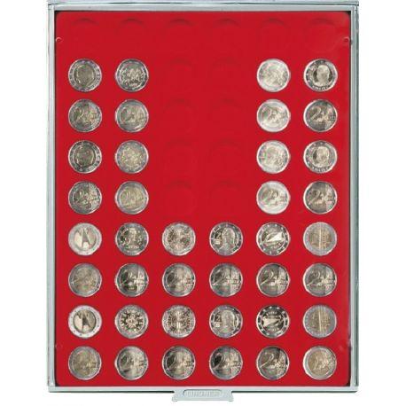 Box LINDNER pour monnaies et médailles