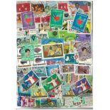 Collezione di francobolli filippine usati