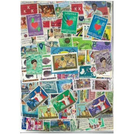 Collection de timbres Philippines oblitérés