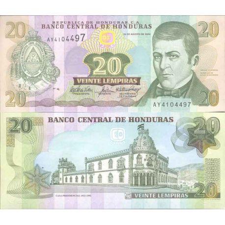 HONDURAS - Pk N° 92 - Billet de 10 Lempira