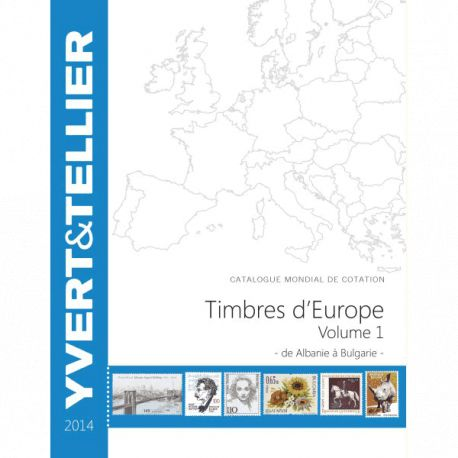 Catalogue Europe Vol. 1 Yvert et Tellier 2014