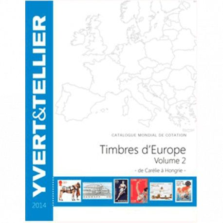 Catalogue Europe Vol. 2 Yvert et Tellier 2014