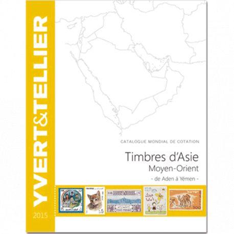 Catalogue Asie - Moyen Orient Yvert et Tellier 2015