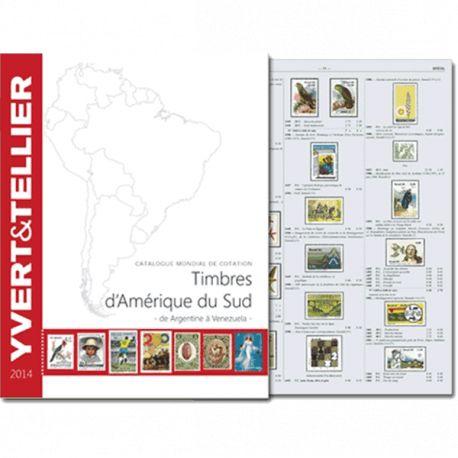 Catalogue Amérique du Sud Yvert et Tellier 2014