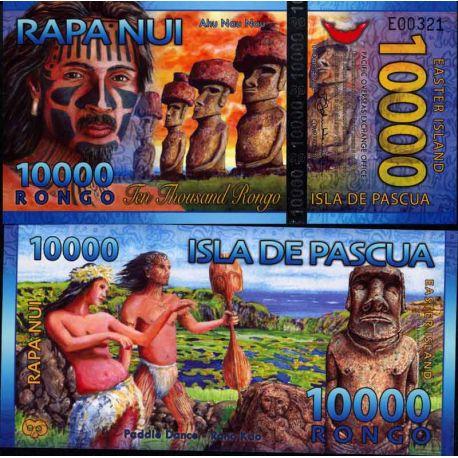 Billet Ile de Paques - 10000 Rongo