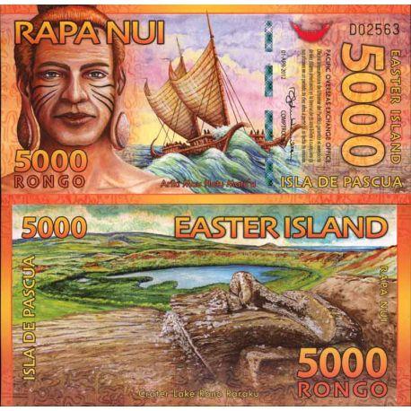 Billet Ile de Paques - 5000 Rongo