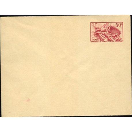 Entier Postal N° 315-E1 La Marseillaise 1940