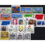 Berlino - Germania Federale - anno 1980 completa francobolli nuovi