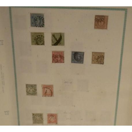 Etats Allemands - Collection de timbres