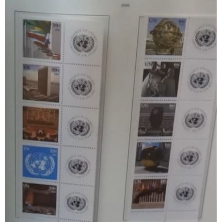 Collections de timbres neufs des Nations Unies