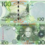 Collezione di banconote Lesoto Pick numero 24 - 100 Maloti 2010