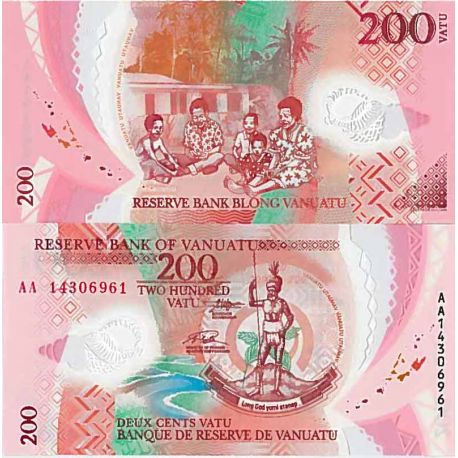 Billet de banque collection Vanuatu - PK N° 9999 - 200 Vatu