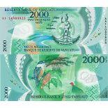 Collezione banconote Vanuatu Pick numero 14 - 2000 Vatu 2014