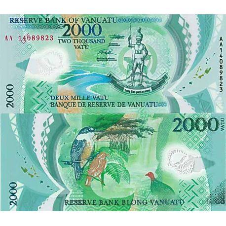 Billet de banque collection Vanuatu - PK N° 9999 - 2000 Vatu