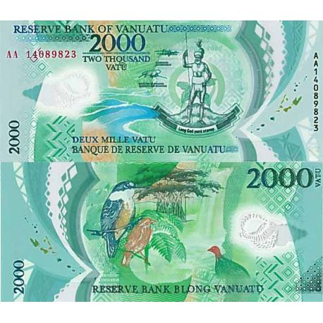 Billet de banque collection Vanuatu - PK N° 9999 - 2000 Vatu
