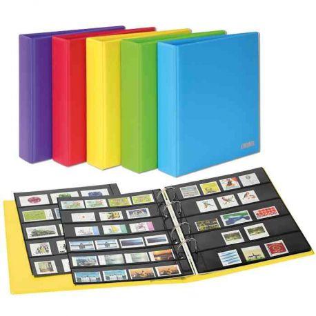 Album pour timbres Lindner Publica M COLOR livré avec 10 feuilles