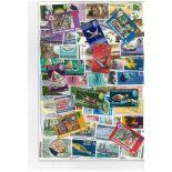 Collection de timbres Pitcairn oblitérés