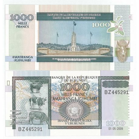 Burundi - Pk No. 46 - 1000 Franks ticket