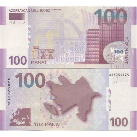 Billet de banque collection Azerbaidjan - PK N° 30 - 100 Manat