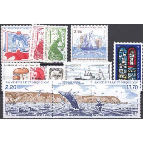 St Pierre et Miquelon - Année 1988 complète **