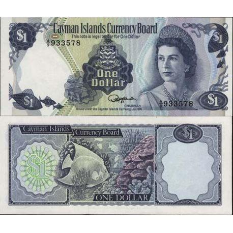 Billets de collection Billets de banque Caimanes Pk N° 5 - 1 Dollar Billets des Caimanes 11,00 €
