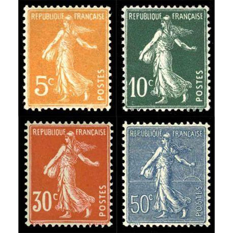 France Année complète timbres 1921 neuve