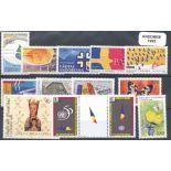 Briefmarke Andorra 1995 neues ganzes Jahr